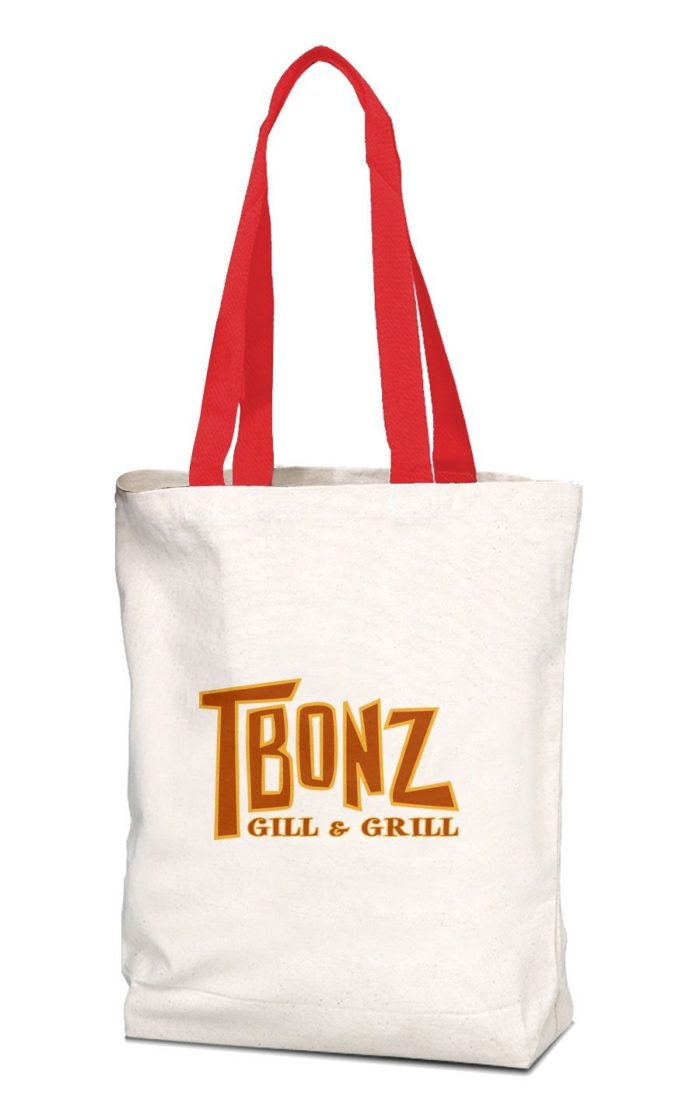 12-oz. Multipurpose Tote with Contrasting Colored Handles
