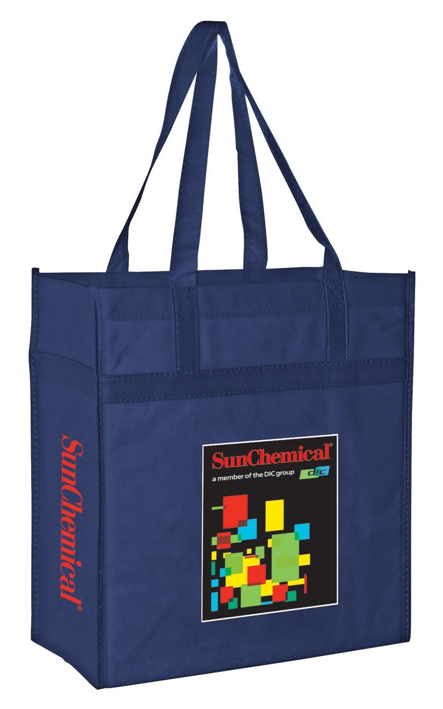 Endurachrome™ Non Woven Market Tote with Reinforced Band